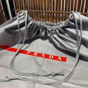 PRADA waterproof dust bag, 100% PVC, New, no tags!